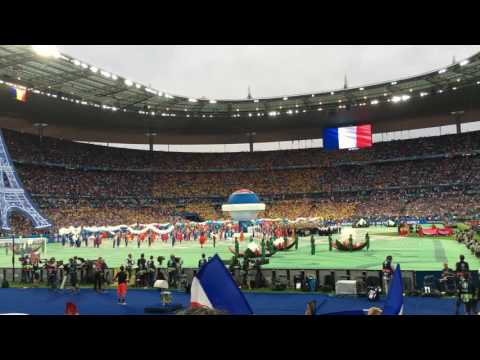 UEFA EURO 2016 – France vs Romania – Opening Game Stade de France – Marseillaise – National Anthem