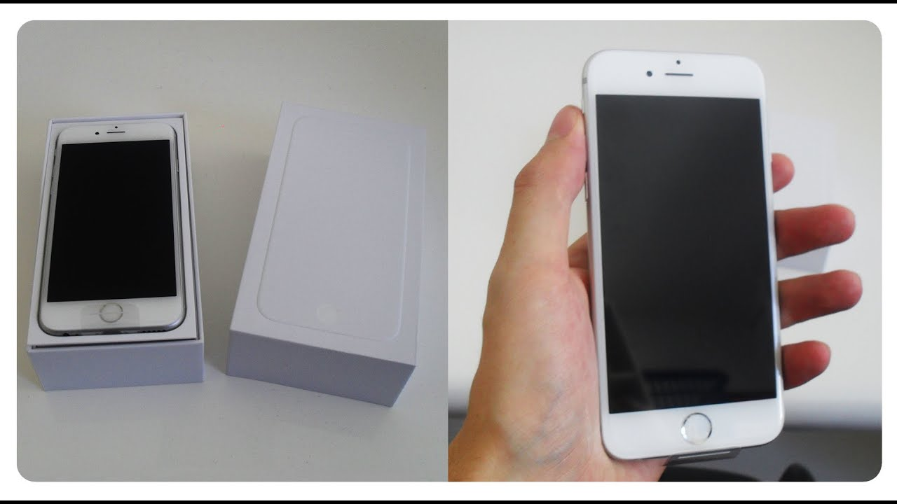 iphone 6 64 gb silver white unboxing teekaytech youtube. Black Bedroom Furniture Sets. Home Design Ideas