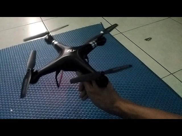 Cara Kalibrasi Drone Limited Edition X52HD Magic Speed