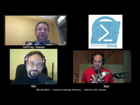 PowerScripting Podcast - Episode 316 - Jeffrey Snover from Microsoft