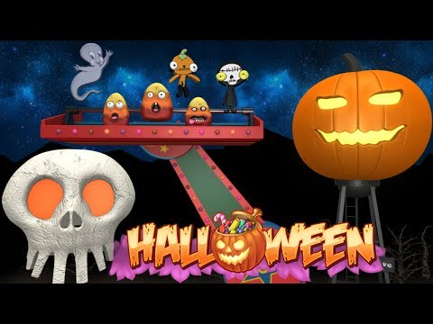 Halloween Train - Halloween Rhymes - Toy Factory - Happy Halloween 2018 - Trains for Kids