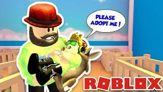 ADOPTING AND RAISING CUTE BABY in ROBLOX ADOPT ME!