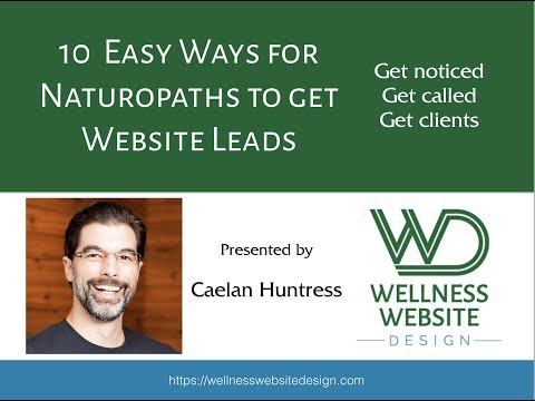 [WEBINAR] 10 Easy Ways For Naturopaths To Get Website Leads
