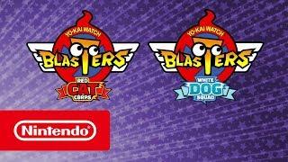 YO-KAI WATCH BLASTERS: Red Cat Corps e White Dog Squad - Trailer de revelação (Nintendo 3DS)
