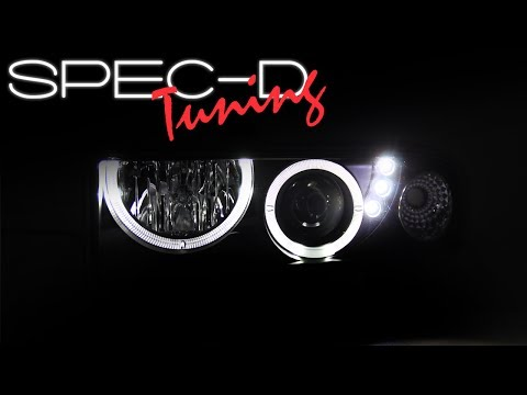 SPECDTUNING DEMO VIDEO:  1998-2004 CHEVY S10 & BLAZER PROJECTOR HEADLIGHTS thumbnail