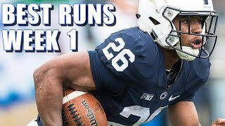 Best Runs of Week 1 of the 2017-2018 College Football Season