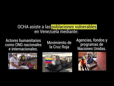 Asistencia para poblaciones vulnerables en Venezuela - #RespuestasParaVenezuela