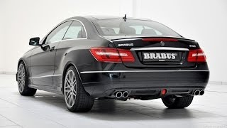 Brabus B50-500 - Mercedes E-Class Coupe 2013 Videos