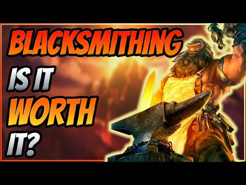 Blacksmithing in TBC Classic, is it Worth it? TBC Classic Profession Picking Guide