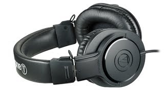 Video Audio Technica ATH-M20x - Best Headphones Under $50 download MP3, 3GP, MP4, WEBM, AVI, FLV Agustus 2018
