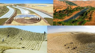 6 Useful Methods China Uses To Convert Desert Into Productive Lands Rich With Crops