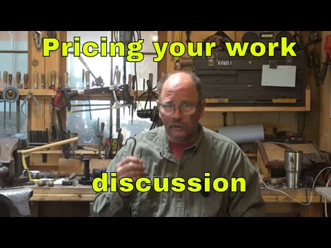 pricing your work - business of blacksmithing