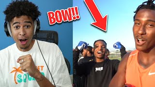 That Boy Nice! Rea¢ting to 7ON7 AGAINST TYREEK HILL! FT. NFL Players & B-Lou