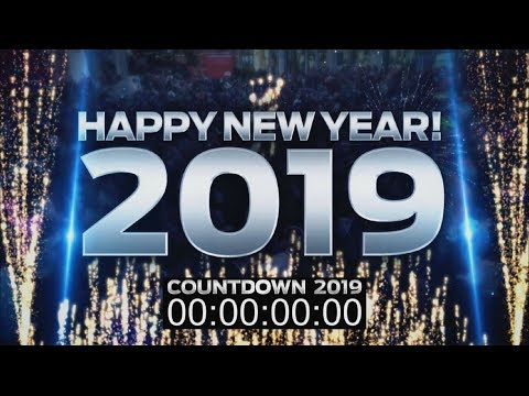New Year's Eve 2019 - Year In Review 2018 Mega Mix ♫ COUNTDOWN VIDEO for DJs