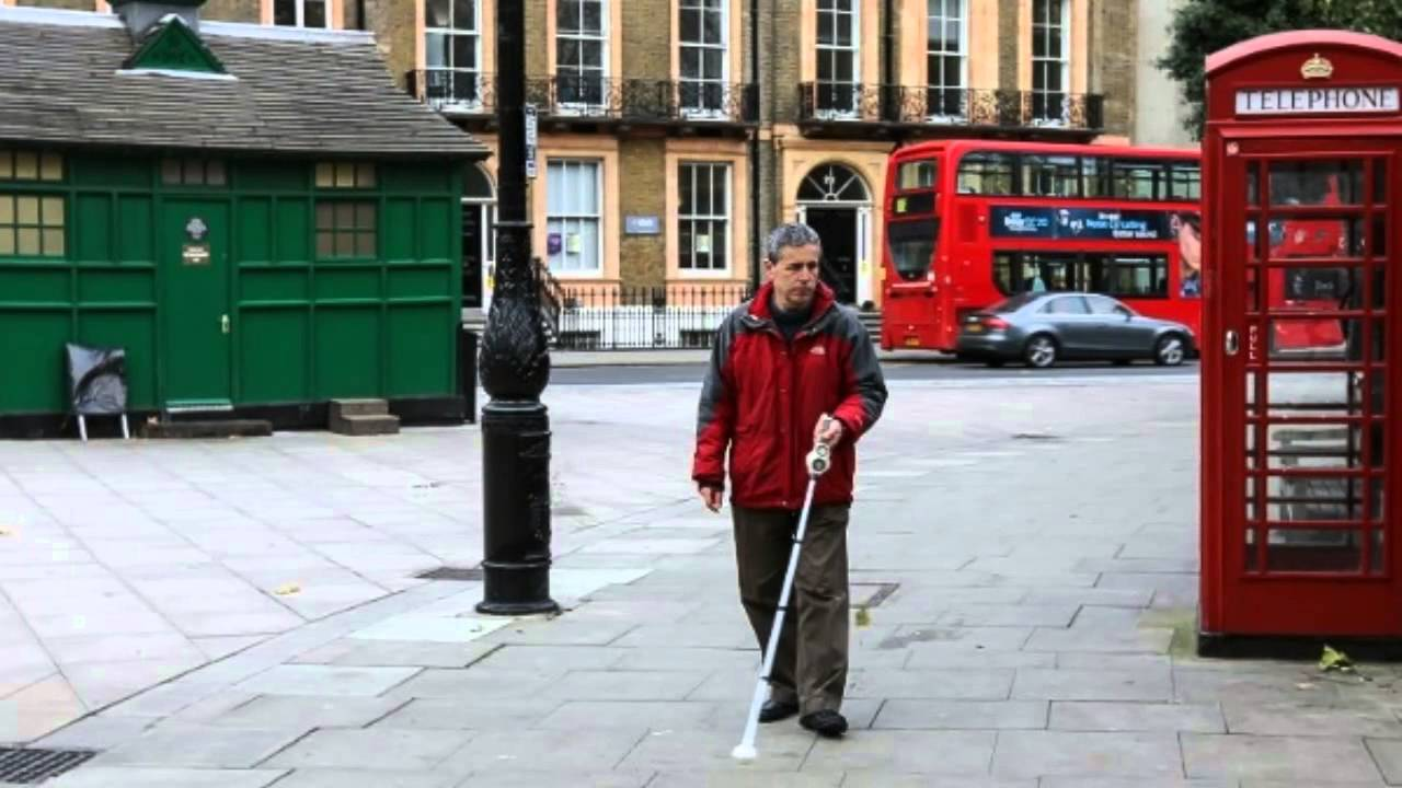 Sonar Sticks Use Ultrasound To Guide Blind People - YouTube