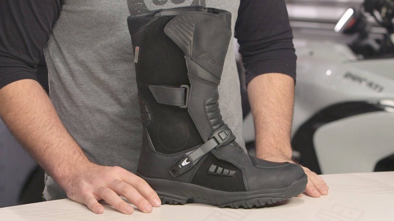 Forma Adv Tourer Boots Review At Revzilla Com Youtube