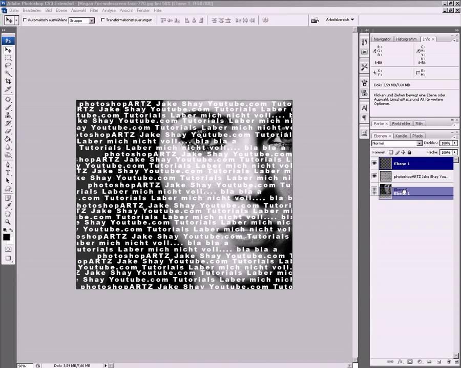 Bild Aus Text Erstellen Photoshop Tutorial Basic Youtube