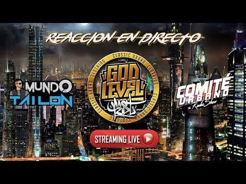God Level Fest Chile en vivo | Red Bull Batalla de los Gallos - REACCION EN DIRECTO 🔴