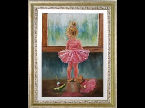 Как нарисовать красивую девочку балерину. Как нарисовать красками красивую балеринку.