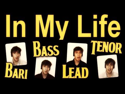 In My Life (The Beatles) - A Cappella Cover - Barbershop Quartet