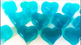 how to make frozen heart jelly DIY