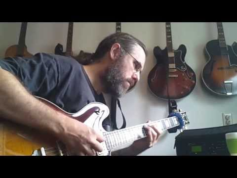 """Warming up a bit on """"You Do Something To Me"""" - Ibanez AS2630 - Fractal AxeFx Ultra - QSC K10"""
