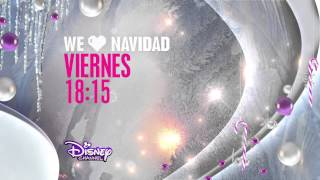 Disney Channel HD Spain - New Christmas Advert / We Love Navidad 2014 [King Of TV Sat]