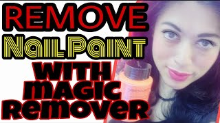 Magic Nail Paint Remover|Remove Nail Polish at Home With The Best Way|  इस तरीके से हटायें नेल पॉलिश