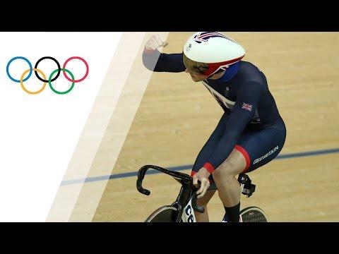 Jason Kenny Breaks The Men´s Sprint Olympic Record