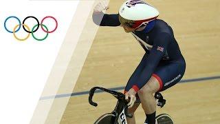 Jason Kenny breaks the Men s sprint Olympic record