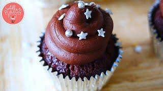 Chocolate Vodka Cupcakes Recipe | Шоколадные кексы с Водкой