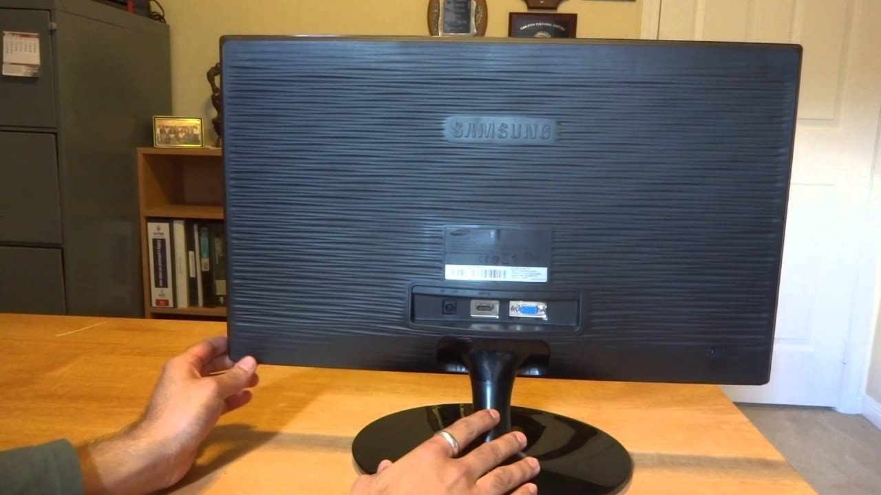 Samsung S22b300h 21 5 Quot Led Monitor Review Youtube