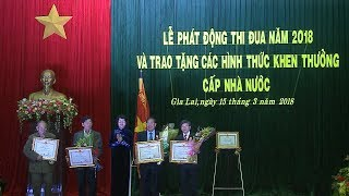 Phó Chủ tịch nước Đặng Thị Ngọc Thịnh phát động thi đua năm 2018 tại Gia Lai