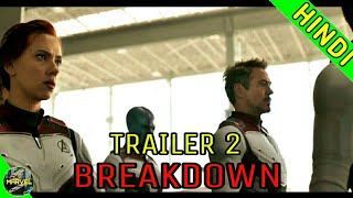 AVENGERS ENDGAME TRAILER 2 BREAKDOWN IN HINDI | OFFICIAL