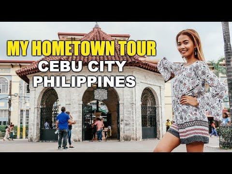 LET ME TAKE YOU AROUND MY HOMETOWN - CEBU CITY PHILIPPINES