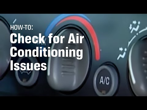 How To Diagnose Car Air Conditioning Problems - AutoZone Car Care