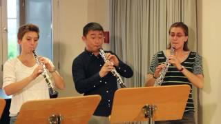 Oboenkalsse Weimar - Mozart, Concerto KV 314 for 4 oboes, EH and futujara