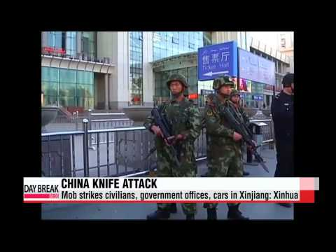 Knife attack in Xinjiang: Xinhua