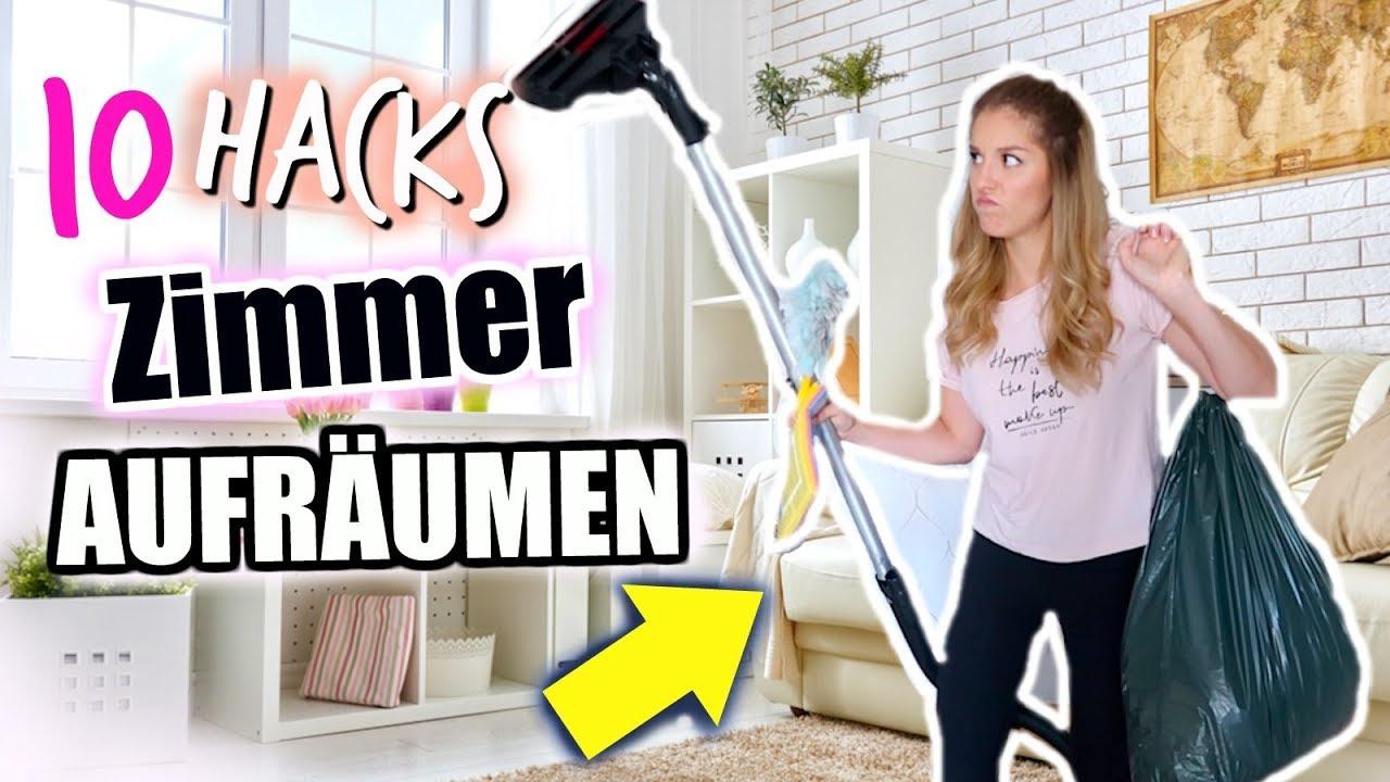 REAL LIFE ZIMMER AUFRÄUMEN | 10 HACKS ♡ BarbaraSofie
