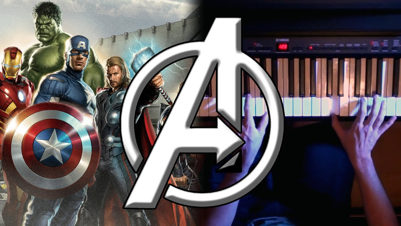 The Avengers - Main Theme on Piano   Rhaeide