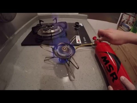 An Essential Upgrade for MSR Whisperlite Stove from Dogdoggod Outdoor Workshop