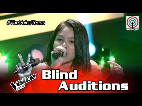 The Voice Teens Philippines Blind Audition: Gia Gonzales - R