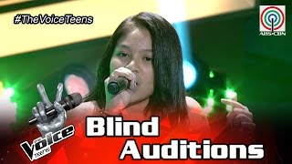The Voice Teens Philippines Blind Audition: Gia Gonzales - Roses