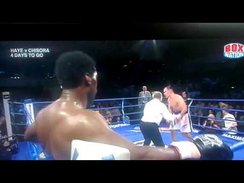 Carl Thompson's KO of Rothmann!
