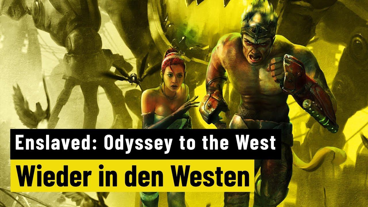 Enslaved: Odyssey to the West | RETRO | Kunterbunte Postapokalypse voller Herz
