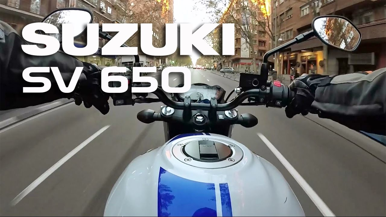 suzuki sv 650 2017 on board youtube. Black Bedroom Furniture Sets. Home Design Ideas