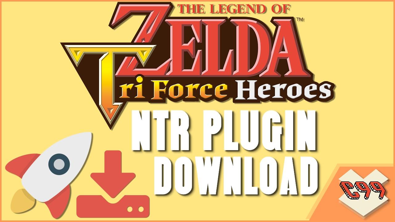 The Legend of Zelda: Tri Force Heroes NTR CHEAT PLUGIN DOWNLOAD EUR