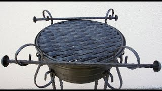 Wow !!! Amazing Barbecue Wheel Grill 2019