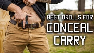 Best Drills for Conceal Carry | Special Forces Techniques | Tactical Rifleman