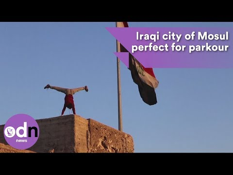 Iraqi city of Mosul perfect for parkour